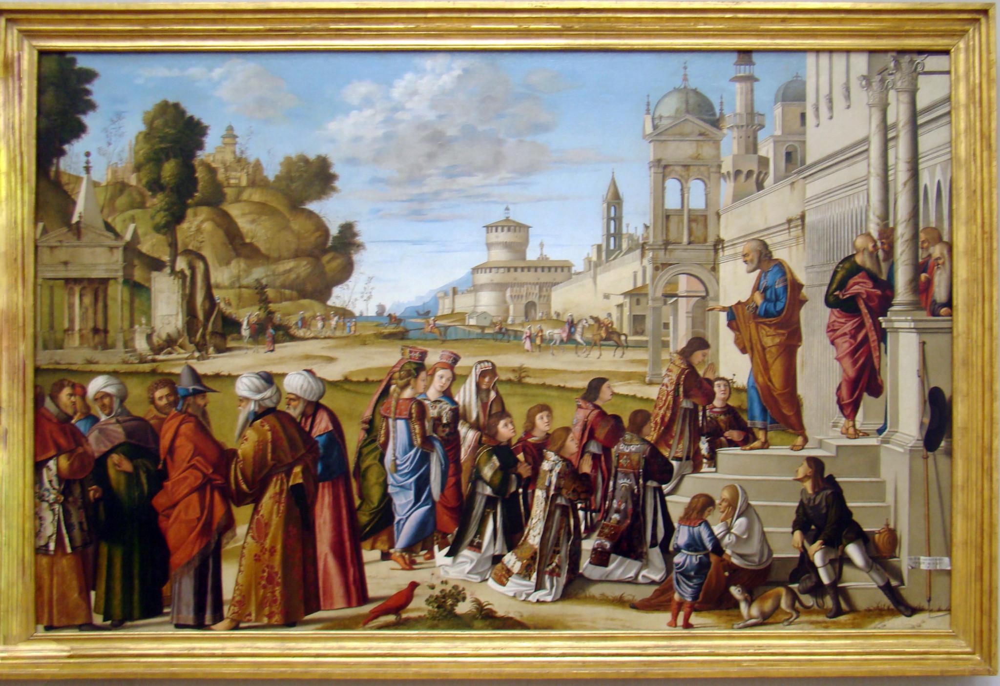 Pintura italiana XIII-XV Giotto, Botticelli, Bellini Museo Gemaldegalerie Berlin