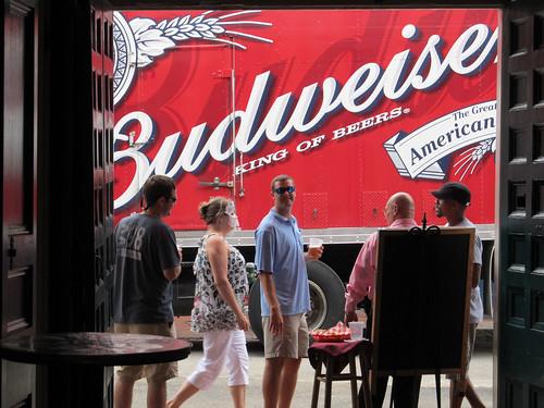 Pat's Budweiser truck