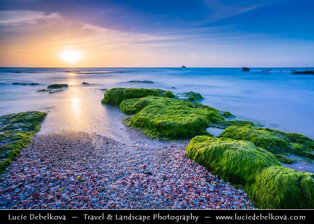 Israel - Palmachim beach at Sunset