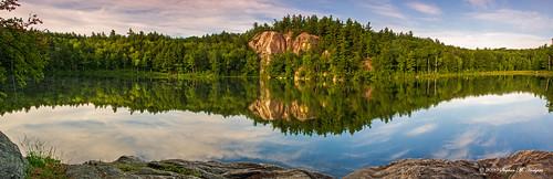 panorama nature water scenic nh ponds