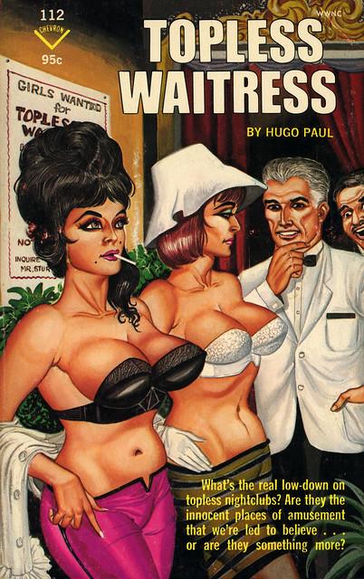 Chevron Books 112 - Hugo Paul - Topless Waitress