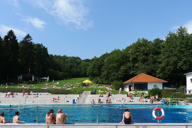 Waldschwimmbad Kronberg August 2011