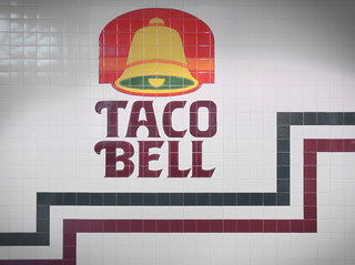 1988 Taco Bell Tiled Wall at Great Northern Mall