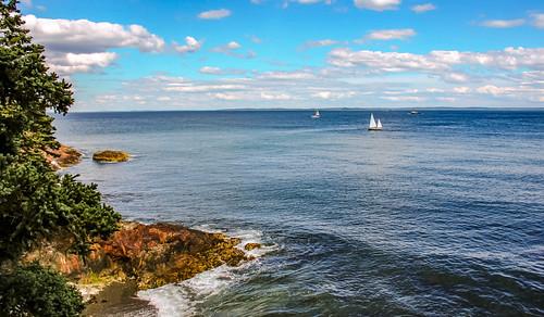 View of West Penobscot Bay, Maine