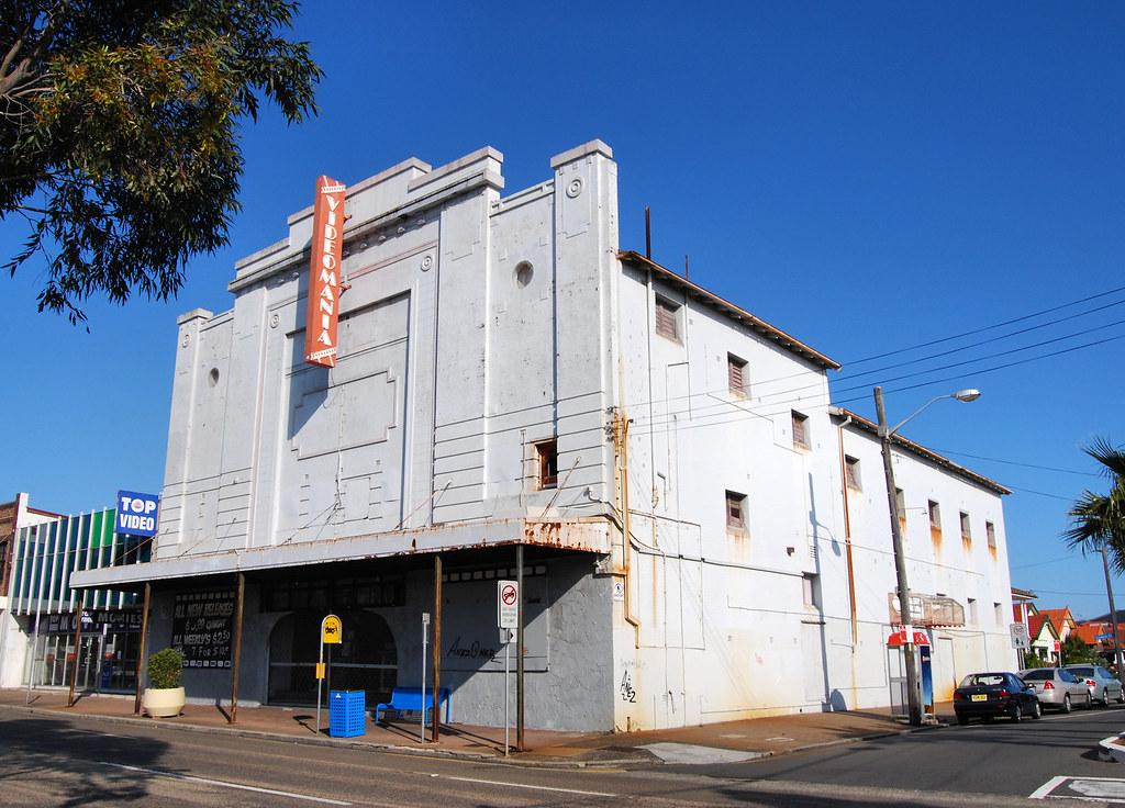 Ex Marina Picture Palace, Rosebery, Sydney, NSW.