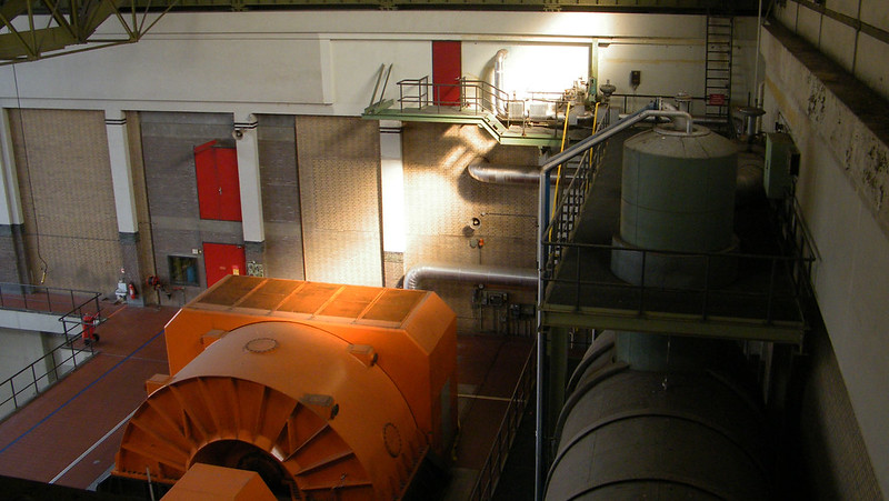 Industrial heritage - power plant