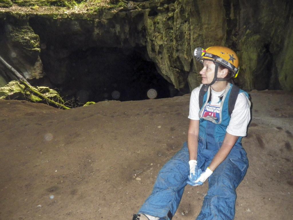 Chrys Hulbert, Hubbards Cave twilight, Hubbard's Cave Preserve, Warren County, Tennessee