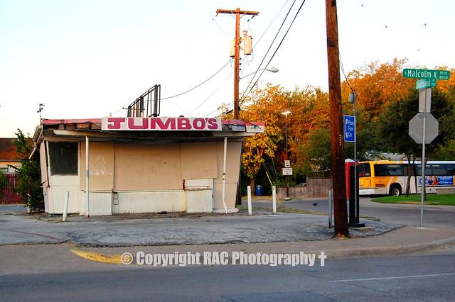 Tastee Freez Ice Cream (Closed) - lka  South Dallas Jumbo's - (South) Dallas Tx Demolished