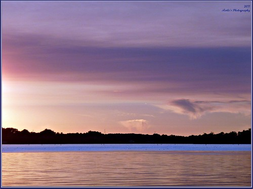 pink blue trees sunset sun lake color nature water yellow wisconsin clouds colorful violet 1001nights picnik waterscape waterscene 1001nightsmagiccity