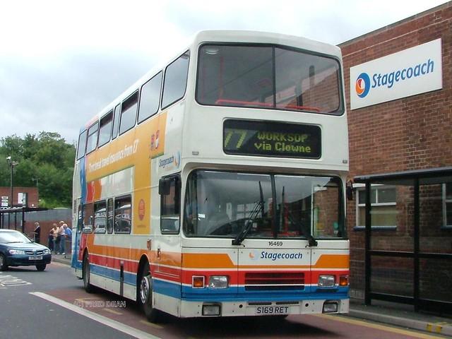 Stagecoach 16469 (S169RET).
