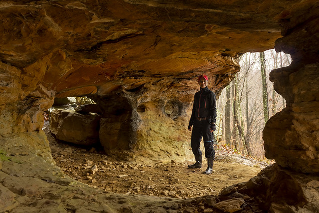 Janice Curtis, Stone Cove Arches, Putnam County, Tennessee 1