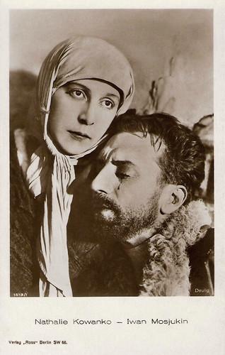Nathalie Kovanko and Ivan Mozzhukhin in Michel Strogoff (1926)
