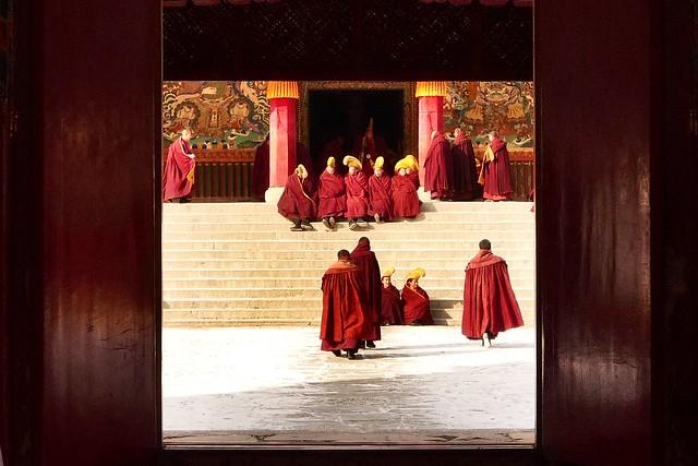 Monks Before Prayers
