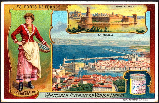 Liebig S1058 French Ports - Marseille
