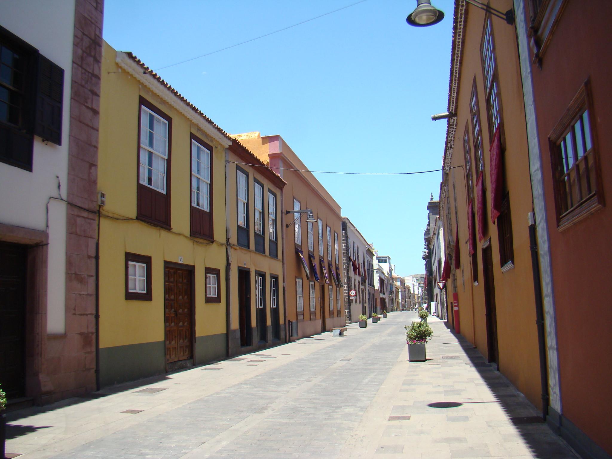 Palacio de Lecaro Museo de Historia calle San Agustin San Cristobal de La Laguna Isla de Tenerife Patrimonio de la Humanidad