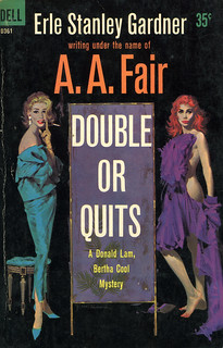 Dell Books D361- A.A. Fair - Double or Quits