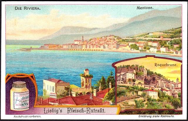 Liebig S1060 The French Riviera ~ Mentone
