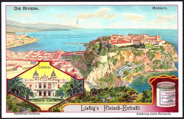Liebig S1060 The French Riviera ~ Monaco