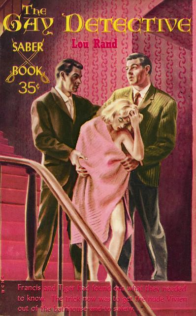 Saber Books SA-18 - Lou Rand - The Gay Detective