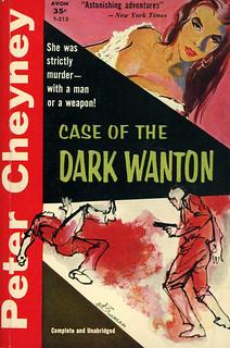 Avon Books T-212 - Peter Cheyney - Case of the Dark Wanton