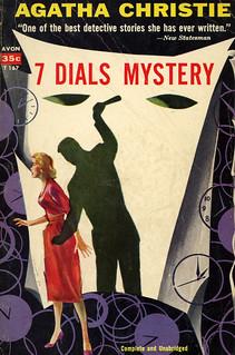 Avon Books T-167 - Agatha Christie - 7 Dials Mystery