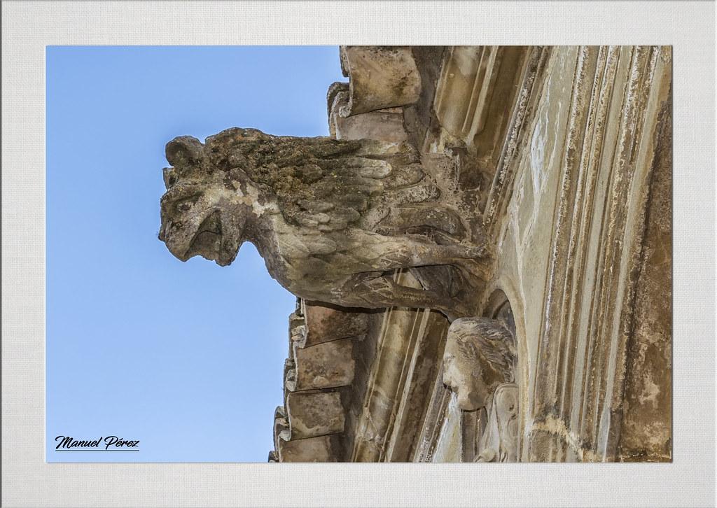 Gárgola Casa De Las Torres úbeda Jaén Adagio And Flickr