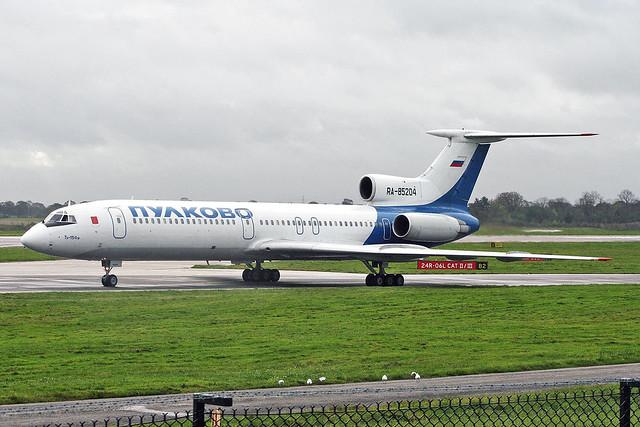 RA-85204 Tupolev Tu-154M Pulkovo Airlines MAN 03NOV05