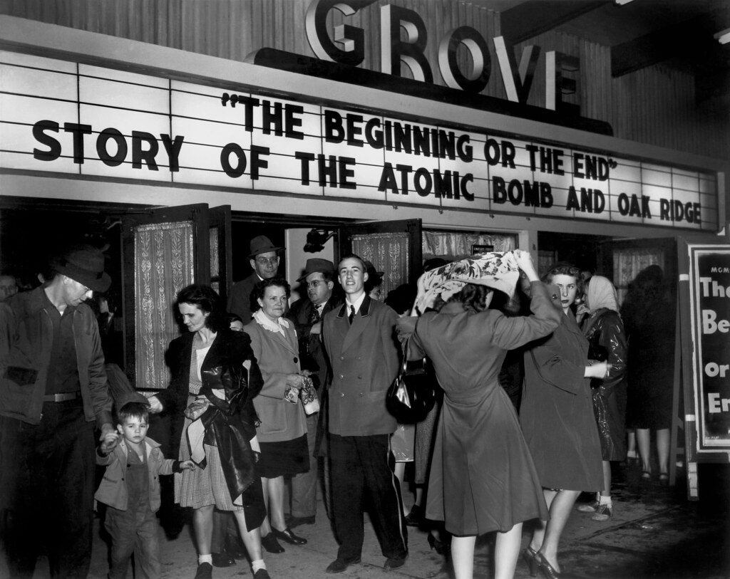 Grove Theater Beginning Or The End Movie Oak Ridge Flickr