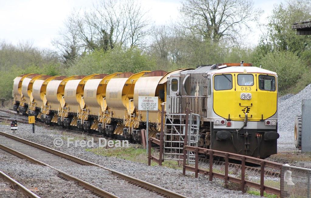 Irish Rail 083 in Charleville.