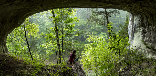 Zarathustras Cave twilight, Faith Wright, Fentress County, Tennessee 1