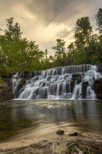 Waterloo Falls, Spring Creek, Overton County, Tennessee 13