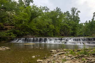 Unnamed waterfall, Spring Creek, Overton County, Tennessee 1