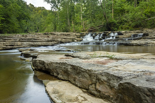 Unnamed falls 3, Spring Creek, Overton Co, TN