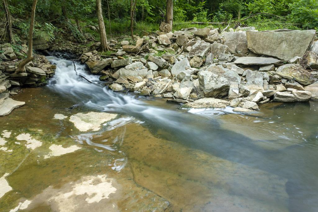 Karst spring 1, Roaring River, Overton Co, TN