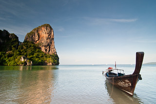 Railay Beach at Sunrise | by Mark Fischer
