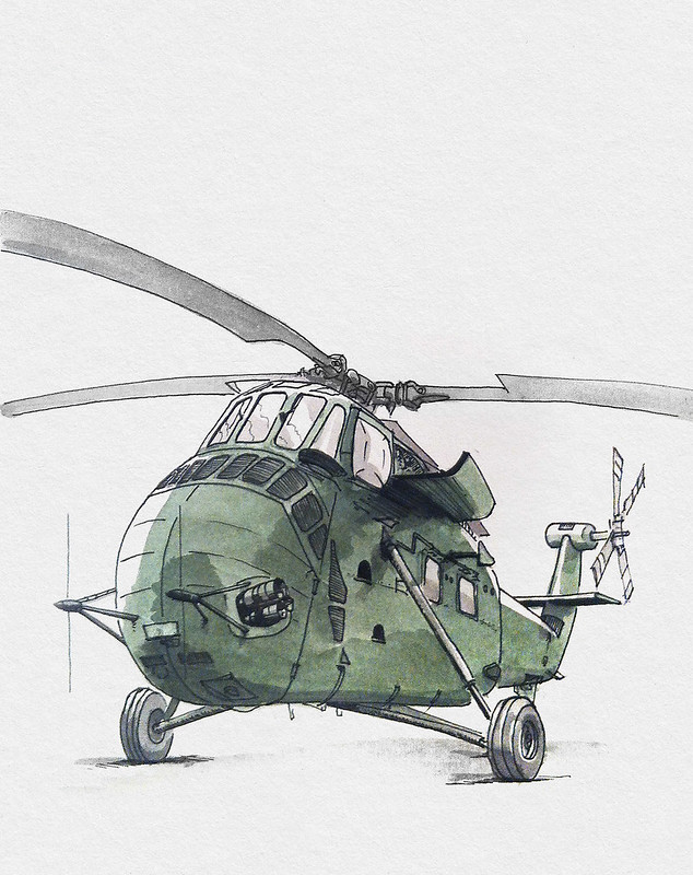 Sikorsky S-58 Helicopter