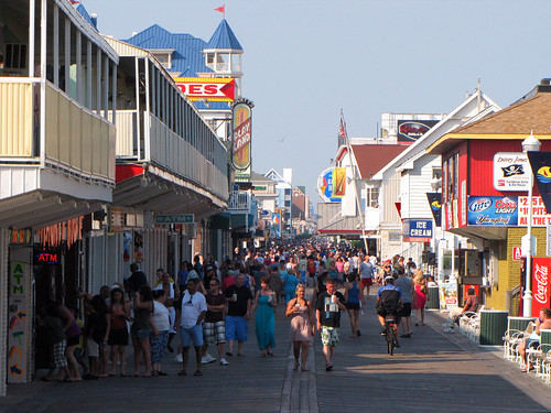 ocean city summer md maryland boardwalk oc