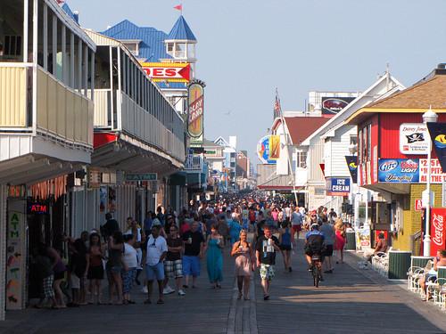 ocean city summer md maryland boardwalk oc