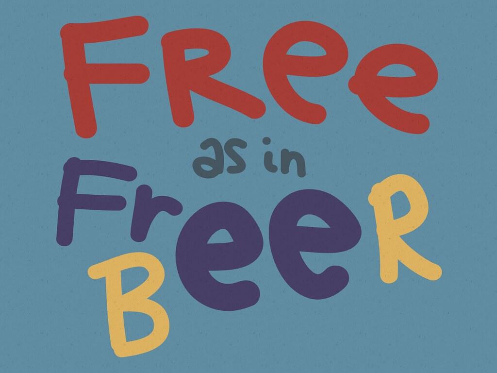 Free As in Free Beer