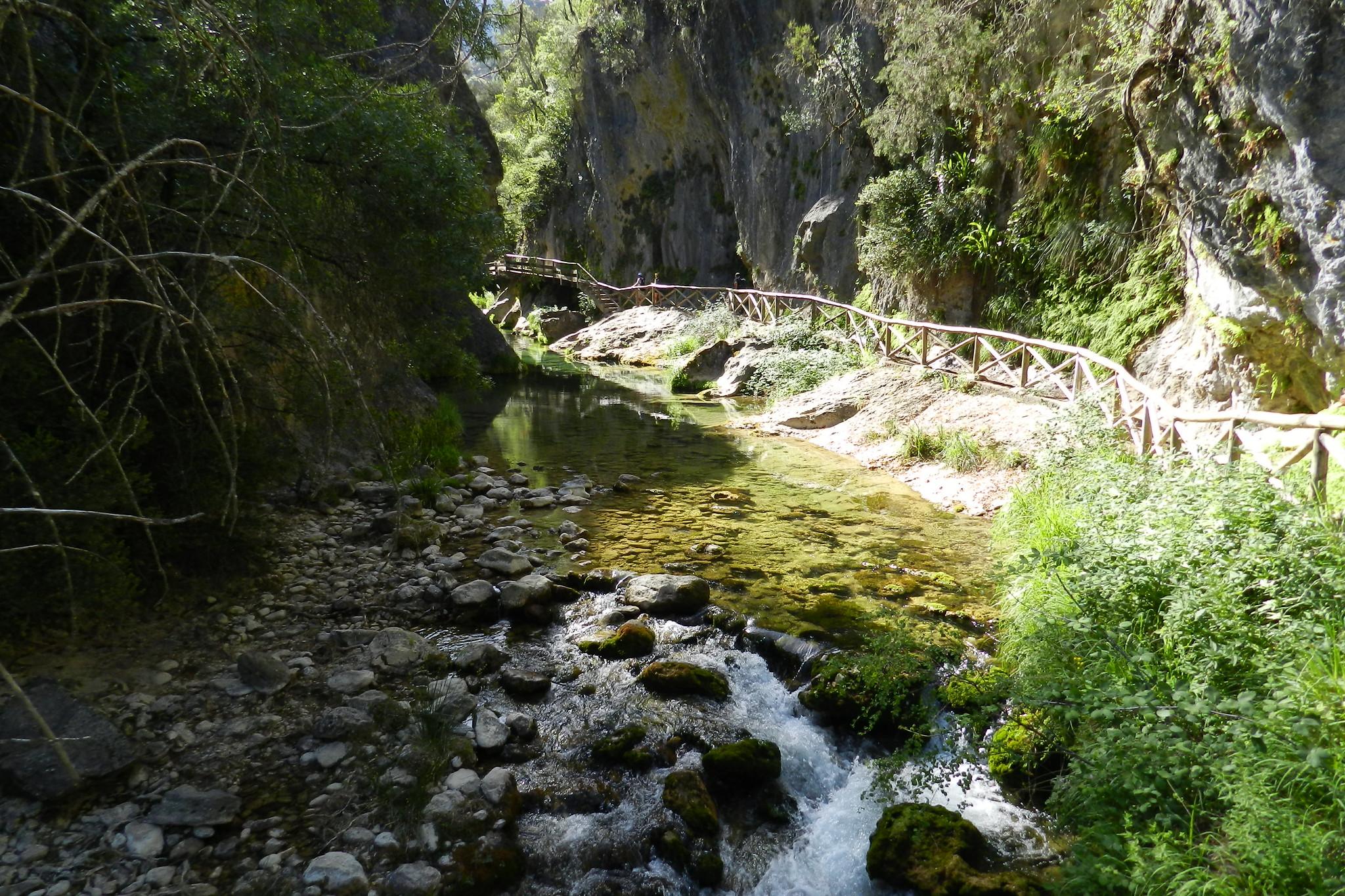 Sierra de Cazorla Rio Borosa Jaén