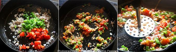 How to make tawa pulao recipe - Step2