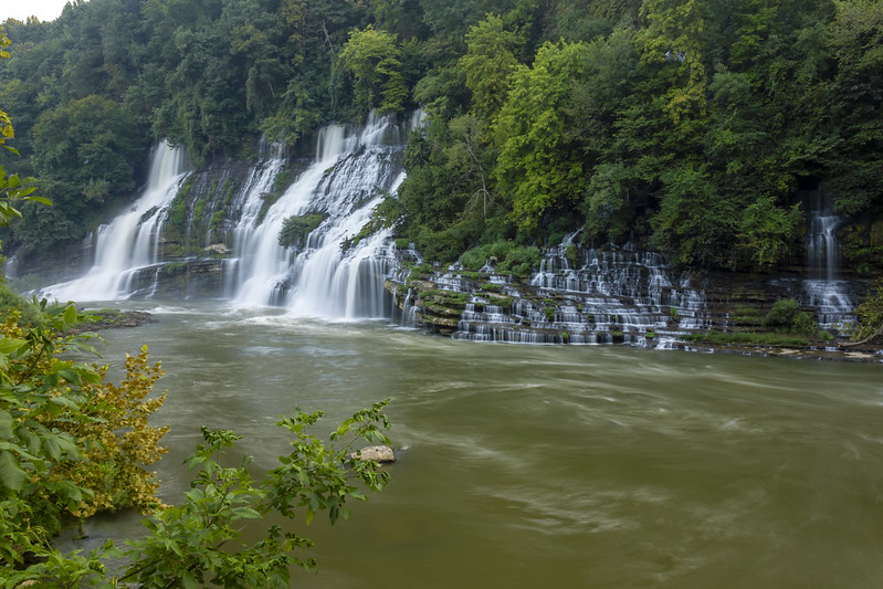 Twin Falls, Caney Fork River, Rock Island SP, White and Warren County, Tennessee 6