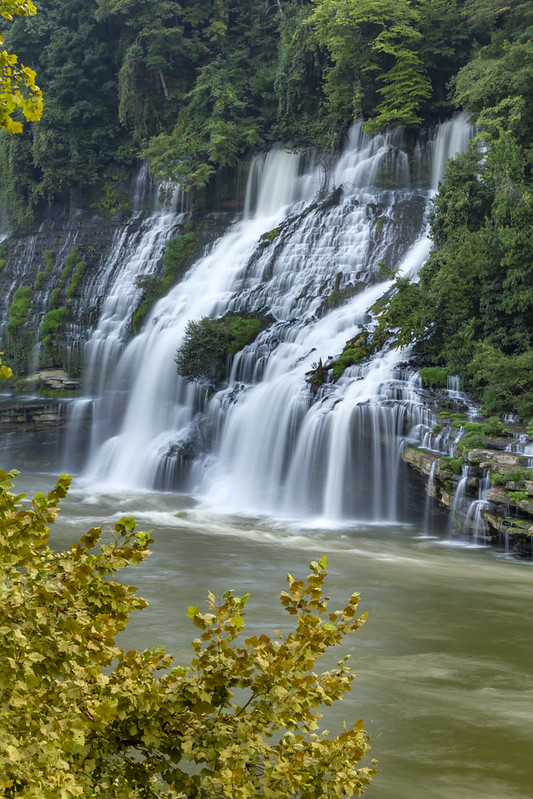 Twin Falls, Caney Fork River, Rock Island SP, White and Warren County, Tennessee 5
