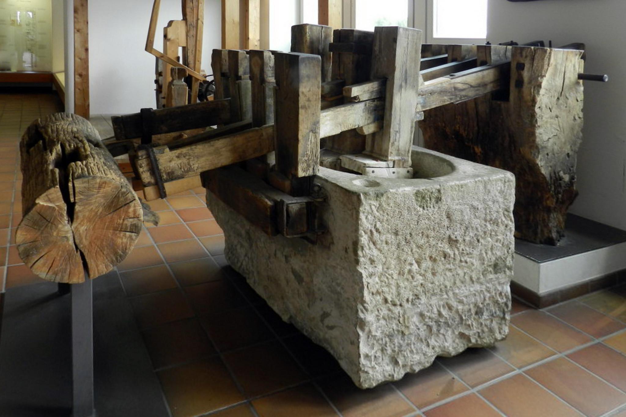 prensa de papel Museo Alemán Munich Alemania