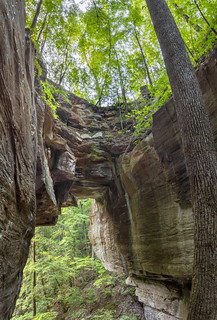 Medley Arch, Fall Creek Falls State Park, Van Buren Co, TN