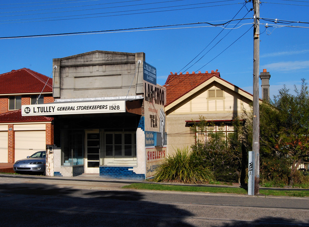 Old shop, Chiswick, Sydney, NSW.
