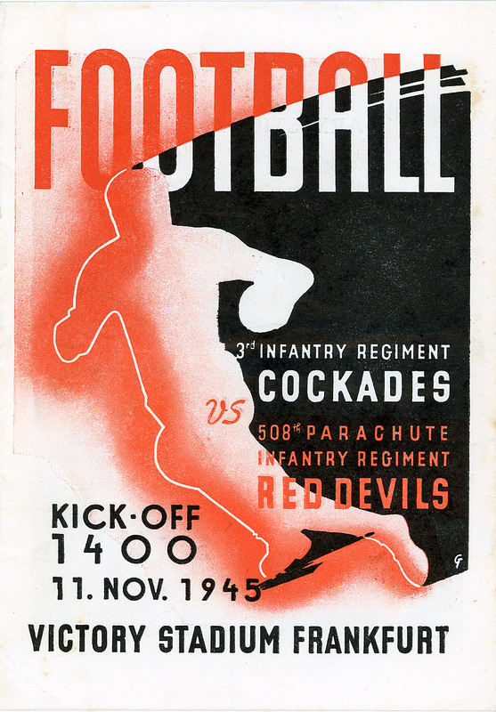 Football Program-1945-11-11-508th PIR Red Devils-01