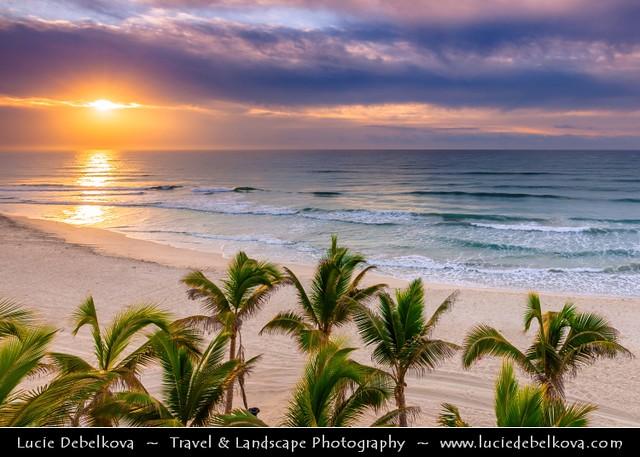 Oman - Dhofar Province - Salalah beach at Sunset