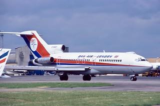 G-BAEF 727-46 Dan-Air Luton July 1984