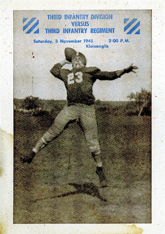 Football Program-1945-11-03-3d Infantry Division Blue Devils-01